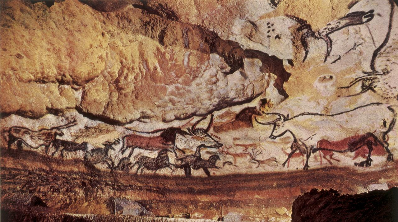 caves of lascaux In the caves of lascaux we see the ability to create images and fictions that has led to the media-saturated culture that exists today.